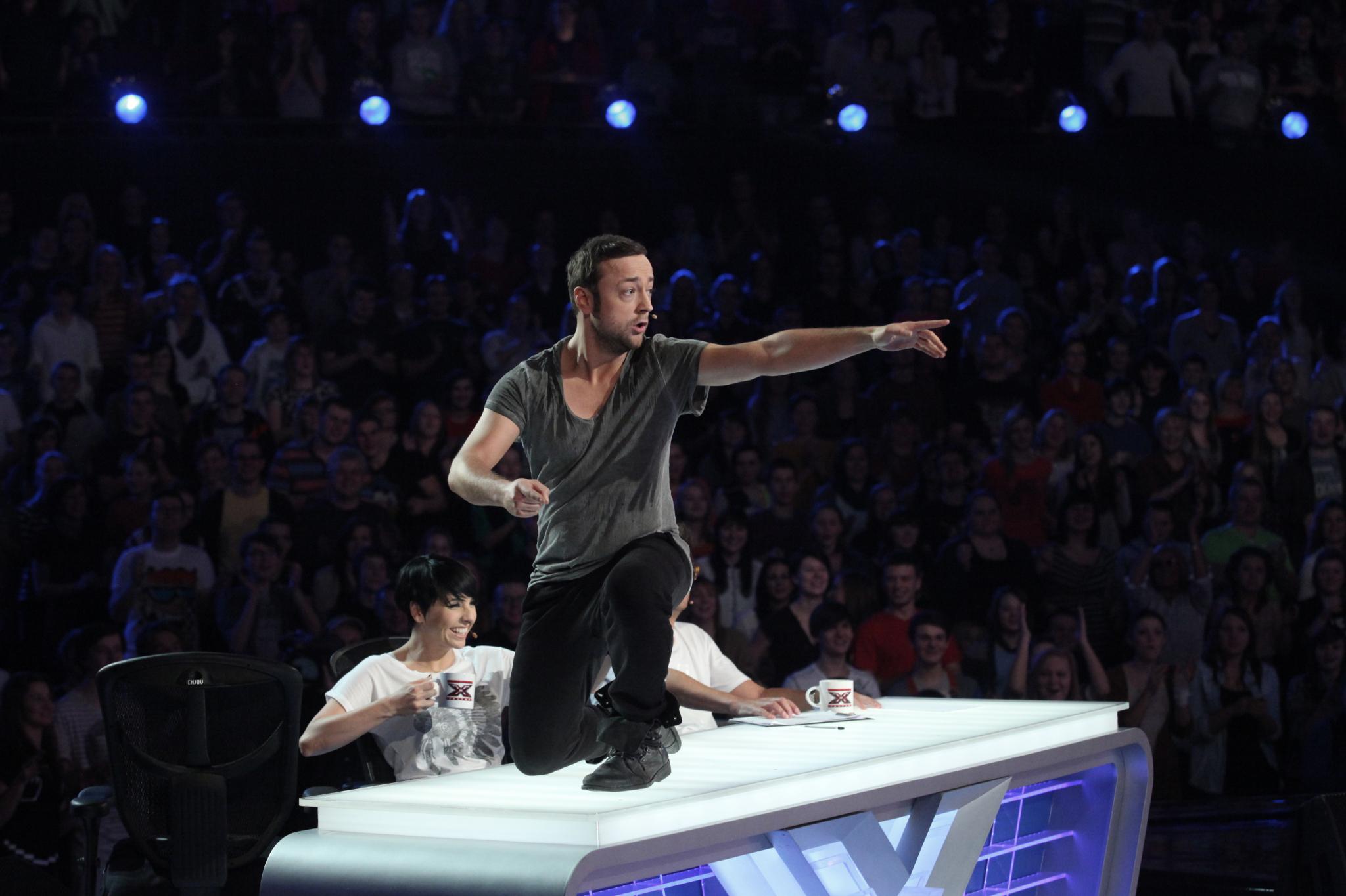"""Juror """"X Factor"""" tańczył na stole przed Wojewódzkim!"""
